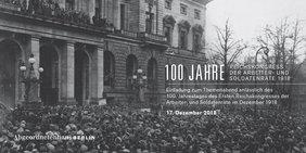 100 Jahre Reichsrätekongress