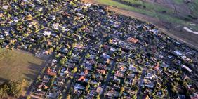 Siedlung / Bauland Luftaufnahme