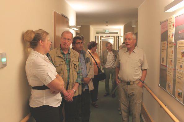 DGB-Senioren bei der Besichtigung von St. Konrad