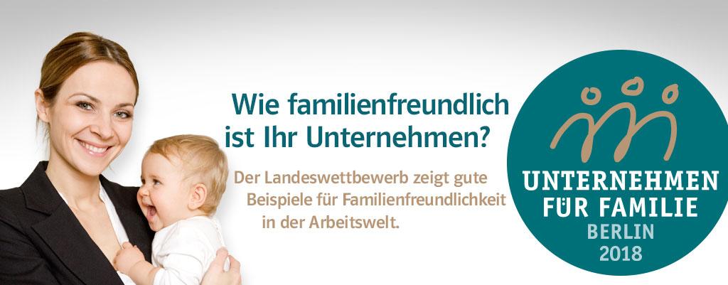 Unternehmen für Familie. Berlin 2018