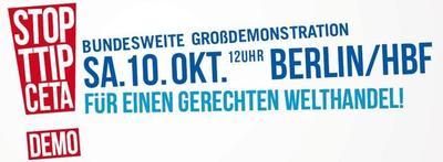Banner TTIP-Demo