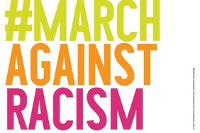 "Plakat ""March against rasism"""