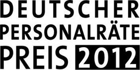 Textgrafik: Deutscher Personalräte-Preis 2012