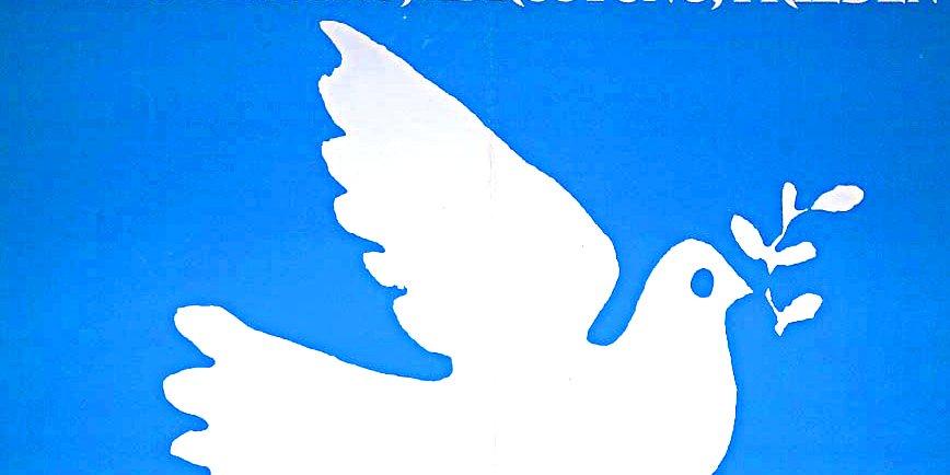 Antikriegstag, Bild Friedenstaube