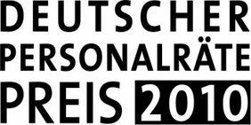 Textgrafik: Deutscher Personalräte-Preis 2010