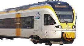 Zug im Öffentlichen Personennahverkehr