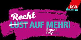 Equal Pay Day Recht auf mehr!