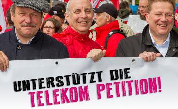 Unterstützt die Telekom Petition