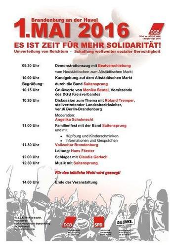 1. Mai Brandenburg/Havel