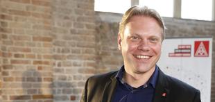 Porträt: Jan Otto, Erster Bevollmächtigter der IG Metall Berlin
