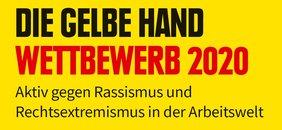 """Wettbewerbsaufruf """"Die Gelbe Hand"""""""