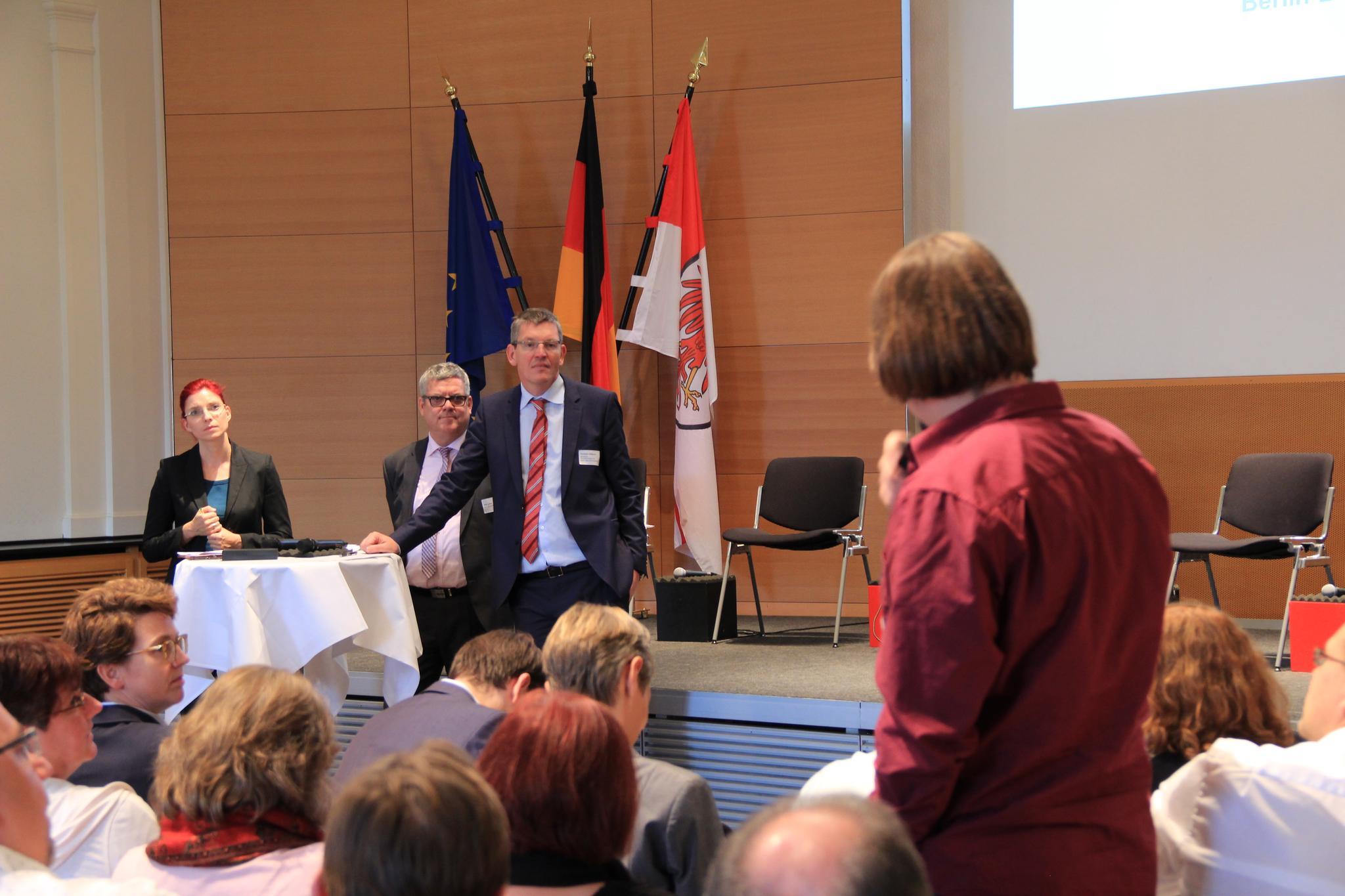 Betriebsrätekonferenz 2016, Hoßbach / Golze