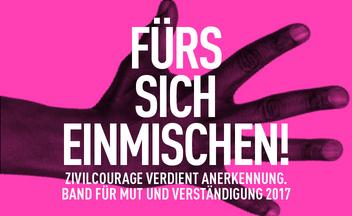 Band für Mut und Verständigung 2016