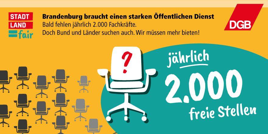 Öffentlicher Dienst in Brandenburg