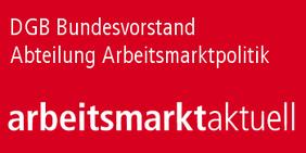 Schriftzug arbeitsmarktaktuell