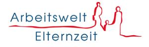 Logo der Servicestelle Arbeitswelt und Elternzeit