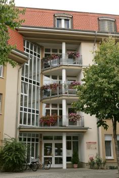 Ansicht des Pflegeheims St. Konrad