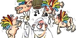 Der Papst kommt! Karrikatur von Ralf König