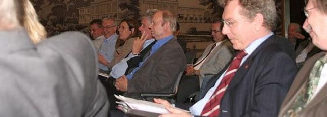Teilnehmer der Veranstaltung Memorandum für eine aktive Industriepolitik 2011