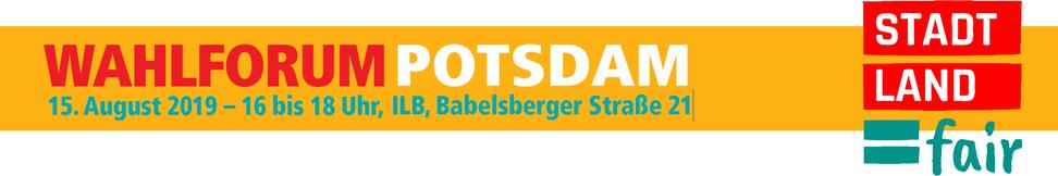 Wahlforum Potsdam 2019
