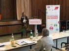 DGB-Bezirksfrauensekretärin Nina Lepsius beim Resümee